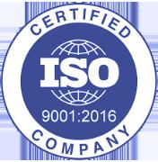 Výtahy na míru Frýdek-Místek certifikát ISO 9001:2016
